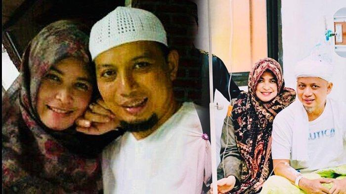 Wahyuniati Al Waly - 6 Fakta Istri Pertama Ustaz Arifin Ilham yang Setia Temani di Rumah Sakit