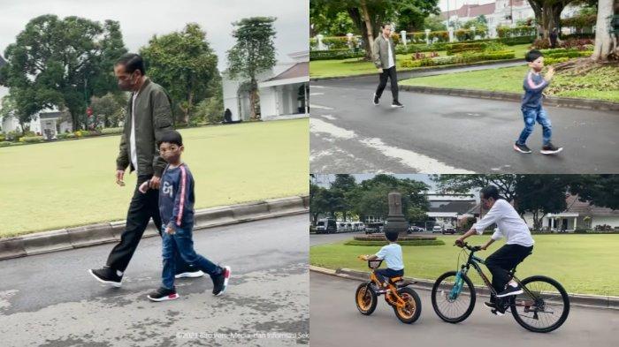 POPULER Deretan Potret Kedekatan Jokowi Bareng Jan Ethes: Rasanya Baru Kemarin Saya Timang-timang