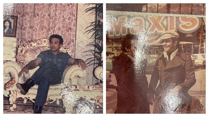 Potret masa muda Mark Sungkar.