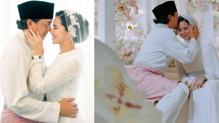 Potret mesra pengantin baru Engku Emran dan Noor Nabila
