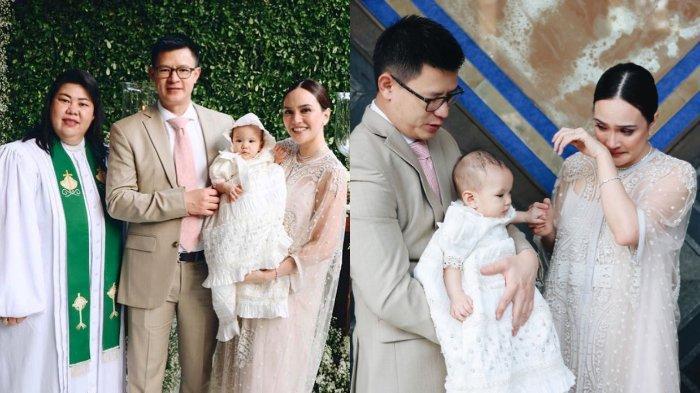 Dampingi Anaknya Dibaptis, Shandy Aulia Berurai Air Mata, Ibunda Claire Kenang Perjalanan Pernikahan