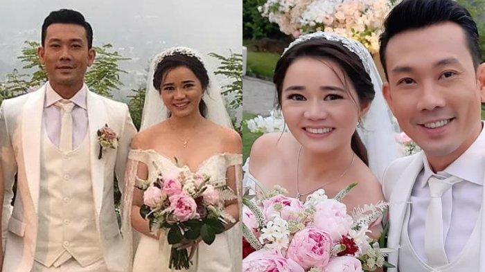 Potret pernikahan Denny Sumargo dan Olivia Allan