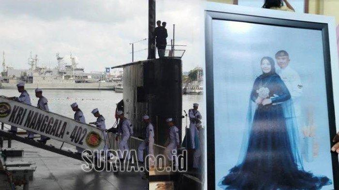 TANGIS Istri Serda Pandu, Baru 2 Bulan Nikah, Kini Suami Ikut Hilang KRI Nanggala-402: Kapan Pulang?