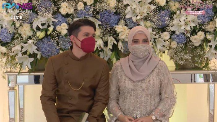 Potret Zaskia Sungkar dan Irwansyah di momen tujuh bulanan
