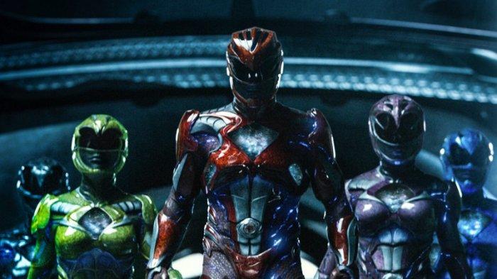 Film Power Rangers.