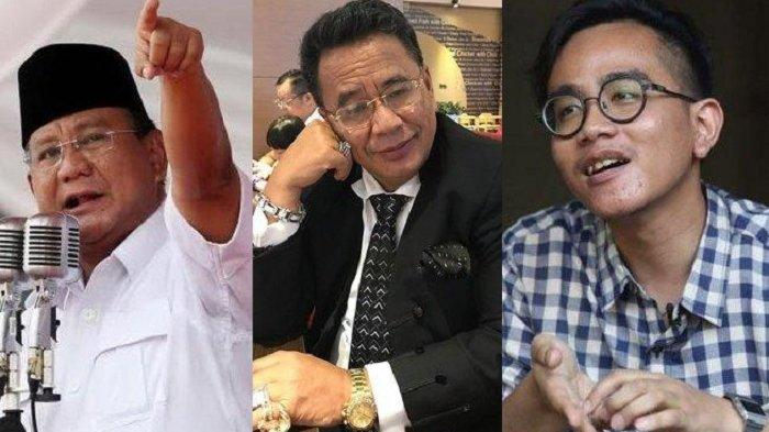 Beda Postingan Hotman Paris saat Unggah Foto Prabowo dan Gibran Putra Jokowi, Cuma Selang Sehari