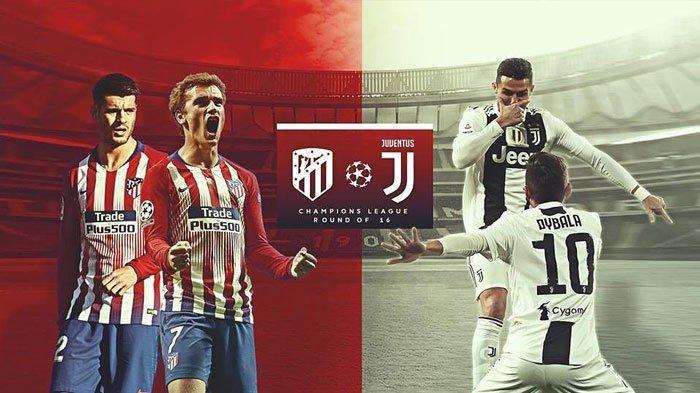 Prediksi Pertandingan Atletico Madrid vs Juventus Liga Champions Kamis Jam 02.30 WIB Andalkan CR7