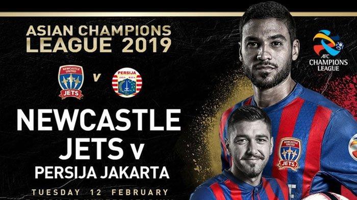 Live Streaming Newcastle Jets Vs Persija Jakarta Liga Champions Asia, Siaran Langsung di Fox Sports