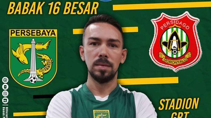 SEDANG BERLANGSUNG - Live Streaming Jawapos TV Persebaya vs Persidago, Piala Indonesia Sore Ini!