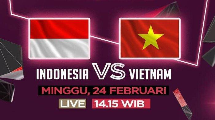 Prediksi Timnas Indonesia vs Vietnam Semifinal Piala AFF U-22 - Live Streaming di RCTI Sore Ini