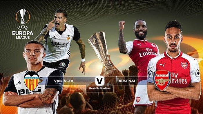 Prediksi Valencia vs Arsenal Semifinal Leg 2 Liga Eropa: Line-up, Head to Head, Live Streaming RCTI