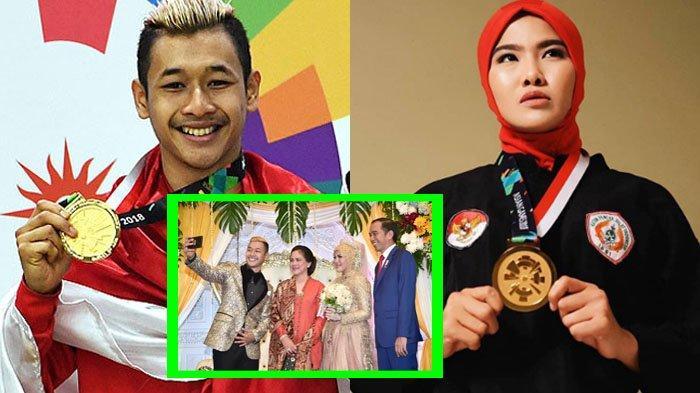 Meriahnya Ngunduh Mantu Hanifan dan Pipiet Kamelia, Penyumbang Medali Emas Asian Games 2018