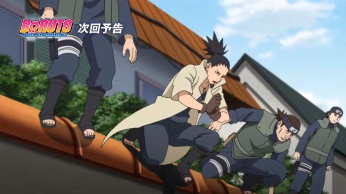 Preview anime Boruto episode 205, Shikamaru.