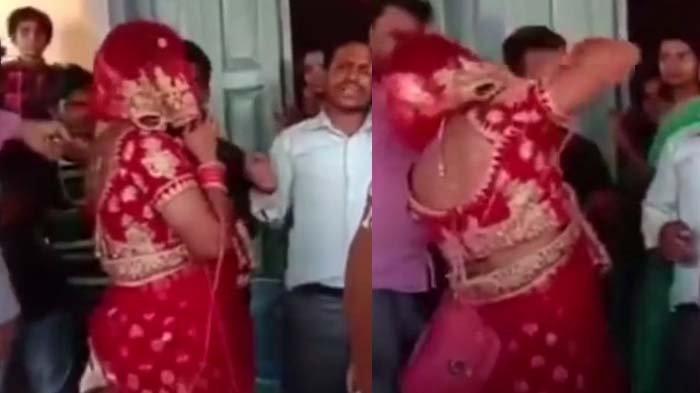 Nekat Datang ke Nikahan Kekasih Gelap, Pria Berdandan ala Wanita Ini Berakhir Kena Bogem Mentah