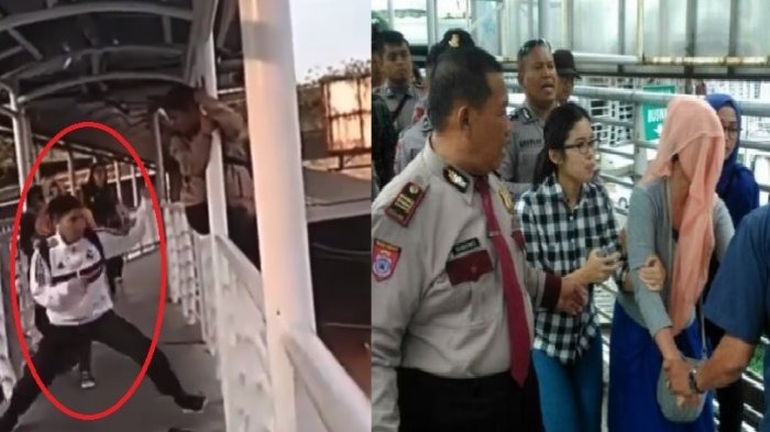 Aksinya Selamatkan Wanita Hendak Bunuh Diri di Jakarta Terekam Kamera, Pria Ini Tuai Pujian Warganet