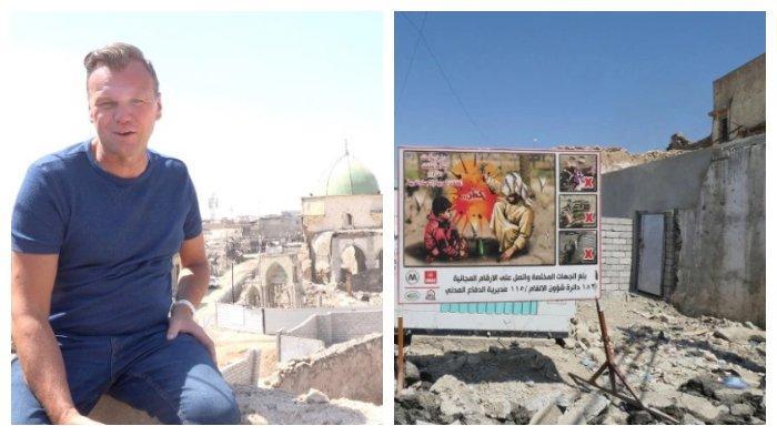 Pria Ini Jadi Wisatawan Pertama Kunjungi Bekas Teritori ISIS di Mosul, Irak, Bisa Dipenjara