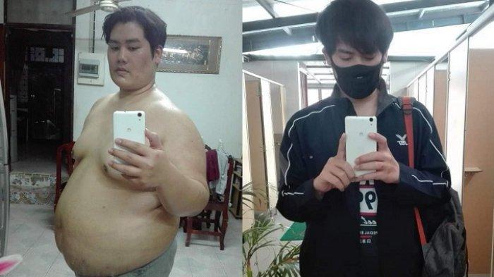 VIRAL Pemuda Turunkan Berat Badan 81 Kg dalam Setahun, Awalnya Berbobot 156 Kg, Ini Rahasia Dietnya