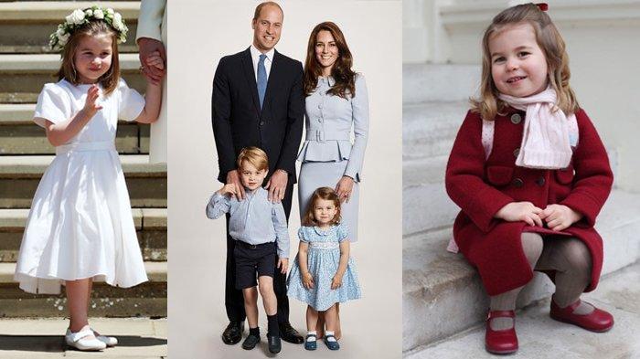 Gemes Banget, Kelakuan Putri Charlotte Lakukan 'Headstand' Sampai Bikin Kate Middleton Tertawa Lebar