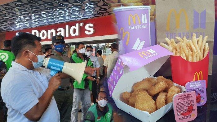 Promo BTS Meal McDonald's picu kerumunan, berujung penutupan gerai di sejumlah wilayah.