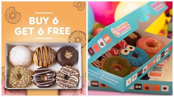 Promo Dunkin Donuts Sampai 29 Januari 2019, Buy 6 Get 6 Free