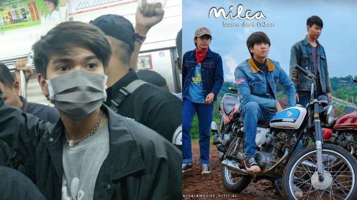 Promo Film MILEA di KRL Jakarta Gaduh, Iqbaal Ramadhan Tinggalkan Kereta & Tulis Permintaan Maaf