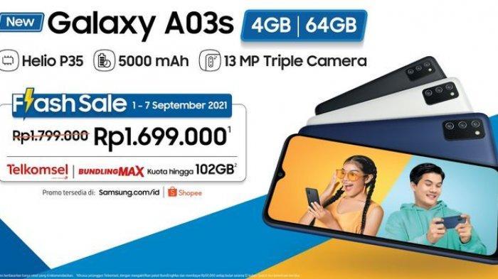 Promo Flash Sale Samsung Galaxy A03s