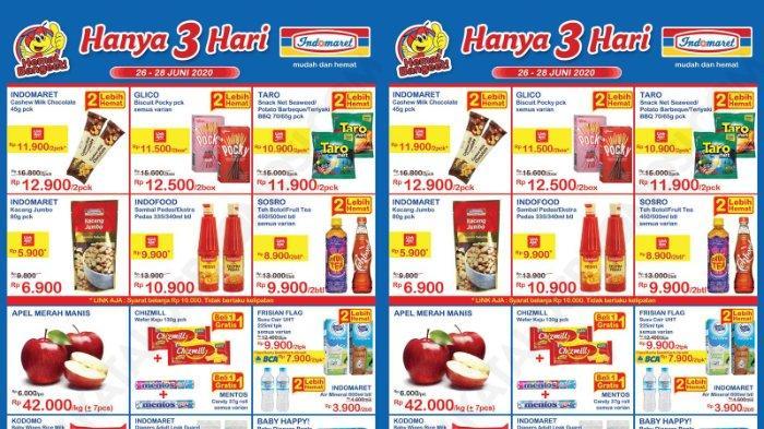 PROMO KATALOG JSM Indomaret Weekend 26-28 Juni 2020: Harga Spesial Buah, Susu Hingga Beras