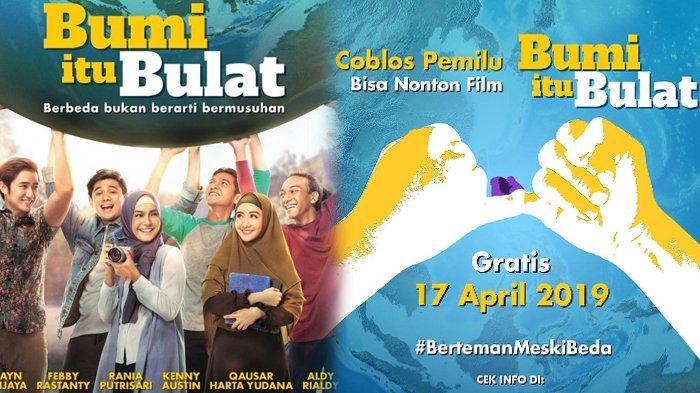 Promo Pemilu 2019, Gratis Nonton Film Bumi itu Bulat di CGV, Tunjukkan Tinta Jari, Simak Lokasinya!