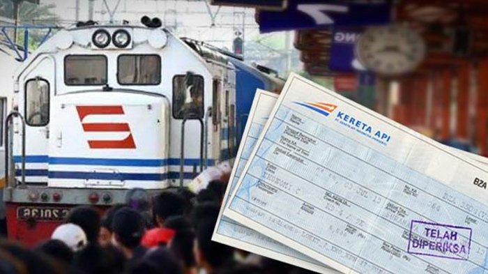 Persediaan Tiket Kereta Api Mudik Lebaran PT KAI Juni 2018, Tujuan Bandung, Jogja hingga Surabaya