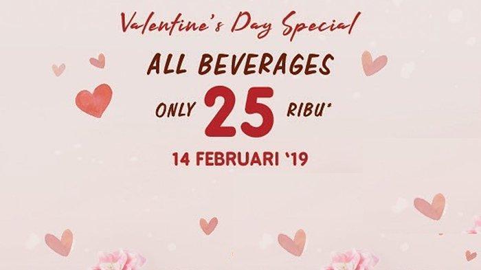Promo J.CO di Hari Valentine - Semua Jenis Minuman Hanya Bayar Rp 25 ribu, Intip Ketentuannya