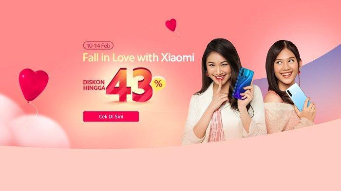 Promo Hari Valentine, Xiaomi Diskon Besar-besaran hingga 43%, Cek Harganya di Sini