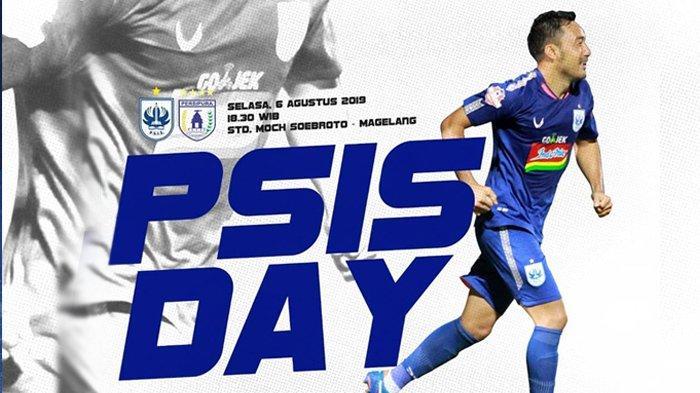 Link Live Streaming Indosiar PSISSemarangvsPersipuraJayapura Liga 1, Pukul 18.30 WIB