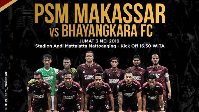 SESAAT LAGI - Link Live Streaming UseeTV PSM vs Bhayangkara FC 15.30 WIB Piala Indonesia 2019!