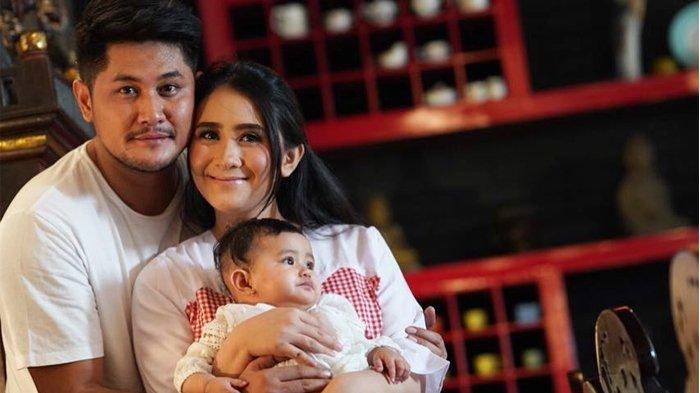 Bukannya Menangis, Baby Qiandra Malah Kegirangan Banget Saat Dijahili Oleh Puadin Redi