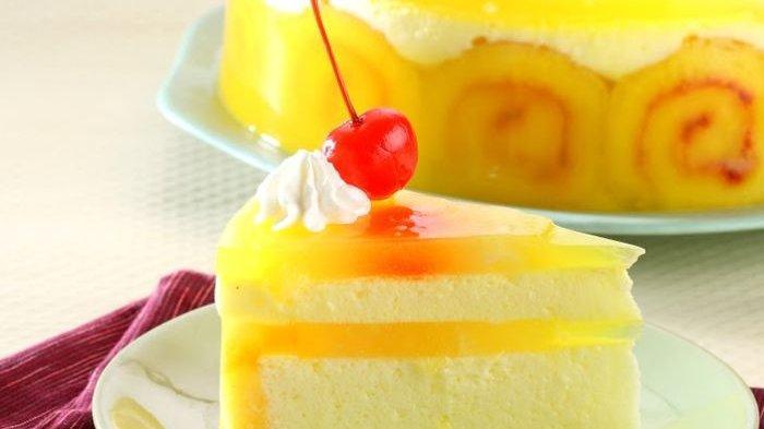 puding cake nanas