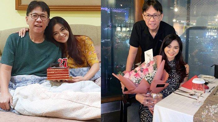 Puspa Dewi rayakan Anniversary bareng suami