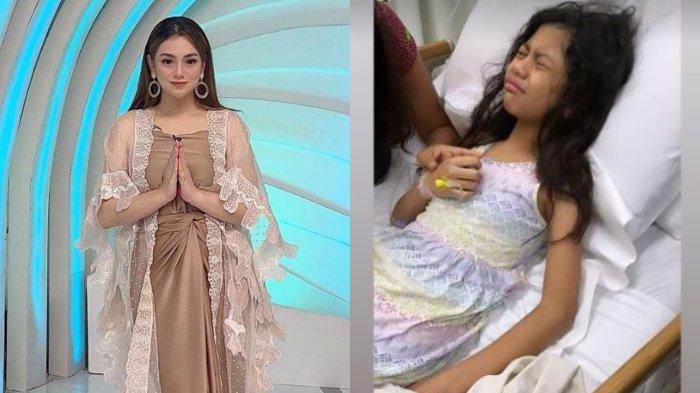 Celine Evangelista Kabarkan Sang Putri Dirawat di Rumah Sakit, Jemima Harus Jalani Operasi