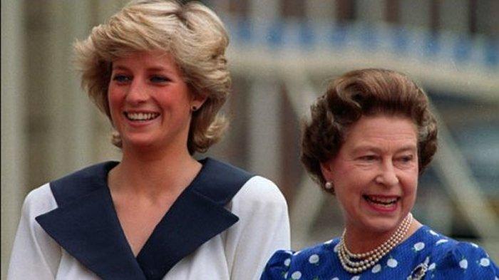 Tak Banyak yang Tahu, Ternyata Ini 6 Alasan Putri Diana Berjarak dengan Ratu Elizabeth