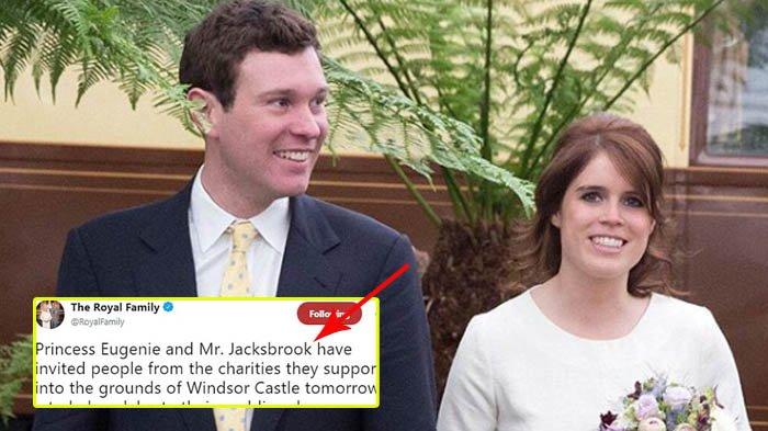 Putri Eugenie Menikah, Masyarakat Inggris Tidak Antusias, Coba Bandingkan dengan Pangeran Harry!