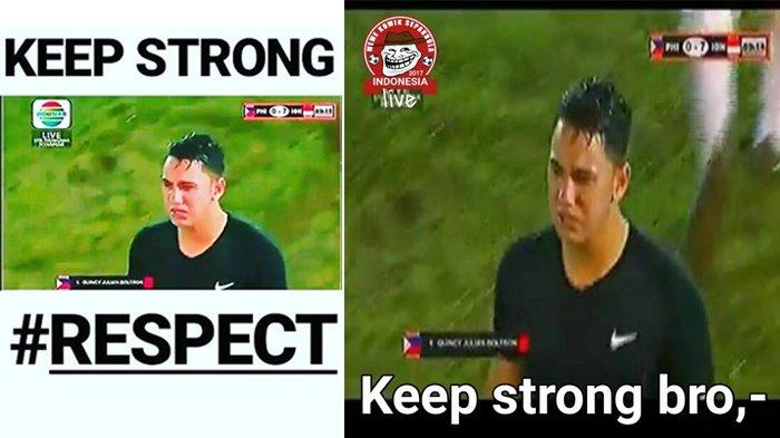 Kalah di Laga Indonesia VS Filipina, Postingan Kiper Quincy Kammeraad Banjir #RespectFromIndonesia