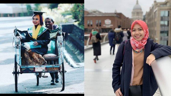 RAENI, Anak Tukang Becak Viral Karena Gelar Doktor di Inggris Kini Makin Sukses, Lihat Foto-fotonya