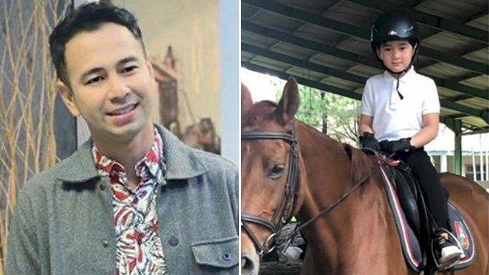 Mbak Lala Teriak, Rafathar Jatuh Tersungkur Saat Menunggangi Kuda, Raffi Ahmad: Anak Laki Harus Kuat