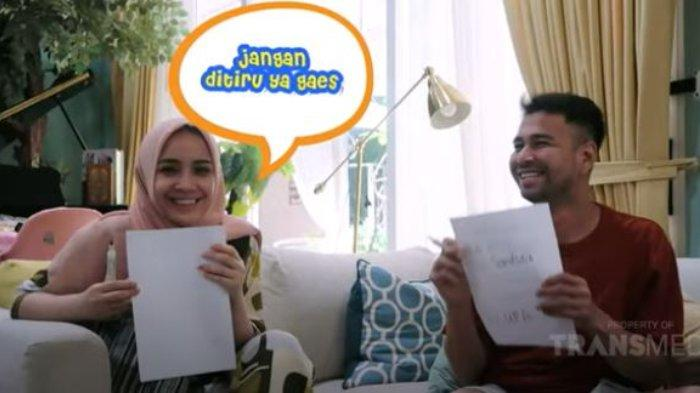 Ditanya Kapan Terakhir Kali Ungkapkan Perasaan Sayang ke Nagita Slavina, Ini Jawaban Raffi Ahmad