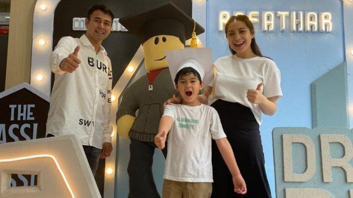 Rayakan Kelulusan TK Rafathar di Rumah Andara, Raffi Ahmad & Nagita Slavina: Sederhana tapi Bermakna