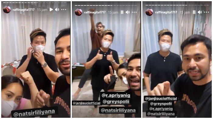 Lliyana Natsir saat main ke rumah Raffi Ahmad dan Nagita Slavina. (Instagram @raffinagita1717)