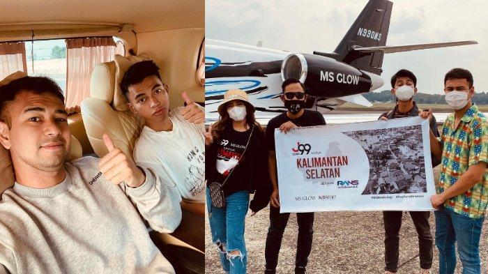 Raffi Ahmad tak ikut Dimas Ahmad salurkan bantuan ke Kalimantan Selatan