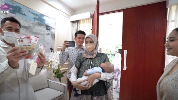 Zaskia Sungkar Girang Baby Ukkasya Perdana Dapat THR dari Nagita, Raffi Ahmad Beberkan Jumlahnya