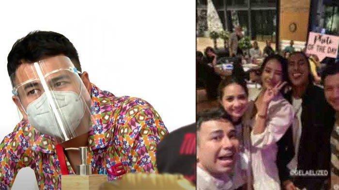 Heboh Raffi Ahmad nongkrong dengan teman-teman malam hari setelah divaksin Covid-19.