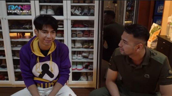 Raffi Ahmad bertemu Dimas Ramadhan sosok yang mirip dirinya