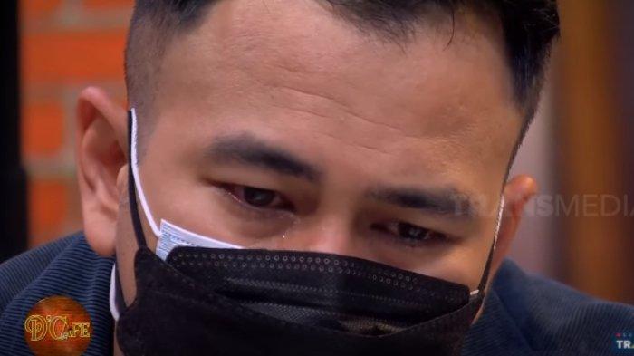 Raffi Ahmad menangis saat mendengar ceramah dosa suami menyakiti istri.